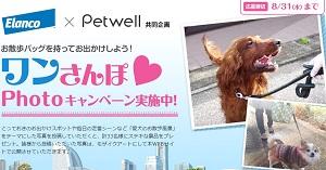 Elanco × Petwell 共同企画 ワンさんぽPhotoキャンペーン!