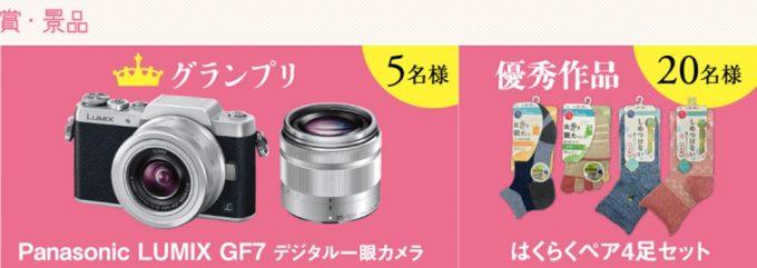 デジタル一眼カメラも当たる☆岡本「はくらく春旅フォトコンテスト」