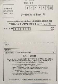 フィール×森永製菓共同企画「ご当地ハイチュウプレゼントキャンペーン