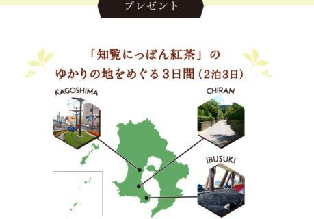pokkasapporoの「旅茶めぐりツアー第2弾・知覧編プレゼントキャンペーン