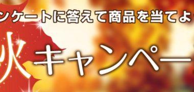 「キラ☆秋キャンペーン」