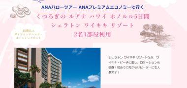 ANAセールス株式会社の「ANAでハワイへ行こう!豪華モニターキャンペーン