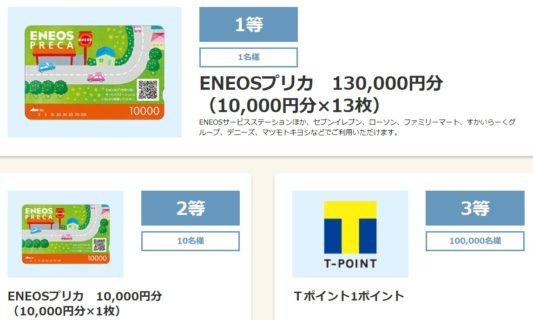 Yahoo! BBの「日本一周分のガソリン代が当たる! 車で旅しようキャンペーン