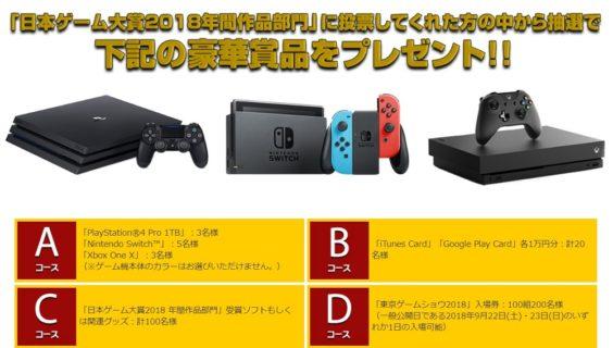 一般社団法人コンピュータエンターテインメント協会の「日本ゲーム大賞