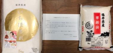 PLANT&エステーのハガキ懸賞で「お米 3,000円相当」が当選
