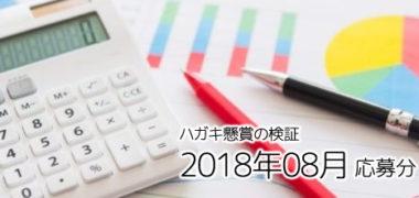 ハガキ懸賞の「当選確率」徹底検証! ~2018年8月応募分~