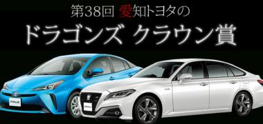 中日新聞社の「第38回ドラゴンズクラウン賞」キャンペーン