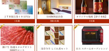 ホテルウィングインターナショナルの「NEW HOTEL OPEN プレゼントキャンペーン