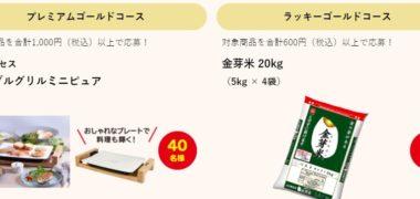 亀田製菓の「ハッピーゴールドラッシュキャンペーン