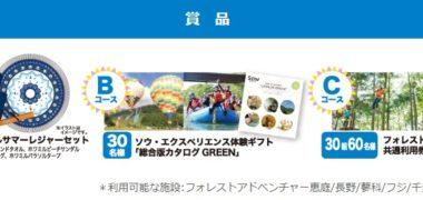 三幸製菓の「わんぱく!エンジョイサマーキャンペーン