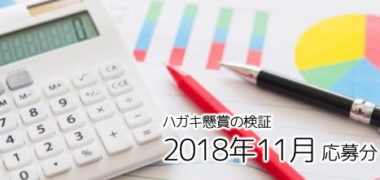 ハガキ懸賞の「当選確率」徹底検証! ~2018年11月応募分~
