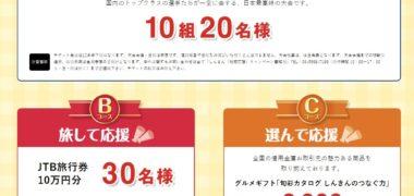 全国信用金庫協会の「しんきん 地域応援キャンペーン