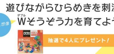あんふぁんWebの「ピタゴラスワールド アスレチックパーク を抽選で4人にプレゼント!」キャンペーン