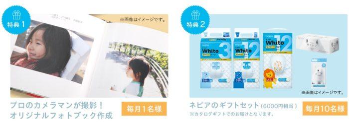ネピアの「Whito 6000回の一度きり」キャンペーン