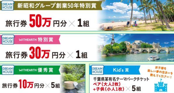 株式会社新昭和のウィザース「ドリームハウスキャンペーン