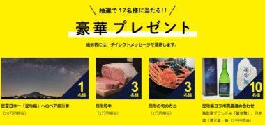 鳥取県 観光交流局の「LUCKY STAR CAMPAIGN
