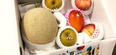 東芝のキャンペーンで「新鮮フルーツセット」が当選