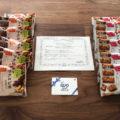 森永のInstagram懸賞で「マクロビ派ビスケット+QUOカード」が当選