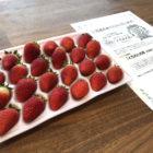 カバヤ食品のハガキ懸賞で「とちおとめ苺」が当選
