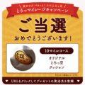 ミツカンのLINE懸賞で「とろっ豆クッション」が当選