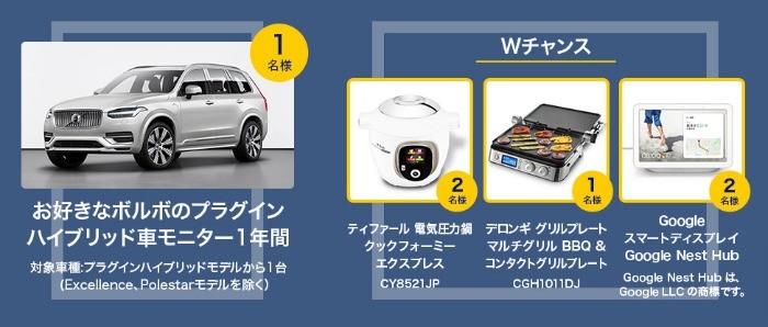 選べるプラグインハイブリッドモデル 1年間モニターキャンペーン | ボルボ・カー・ジャパン