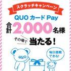 QUOカードPay500円分