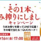 最高10,000円分のQUOカードが当たる購入キャンペーン♪