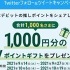 Vポイントギフト1,000円分