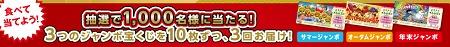 morinaga 当たるかも!?3つのジャンボキャンペーン│チョコモナカジャンボ│森永製菓