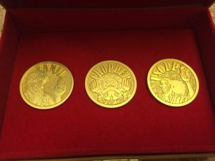 Coca-Colaのハガキ懸賞『映画「ONE PIECE FILM GOLD」公開記念 宝箱入りゴールドメダルバッジが4,000名様に当たる!キャンペーン』